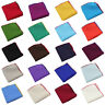 Men Classic Linen Cotton Colorful Pocket Square Hanky Wedding Party Handkerchief