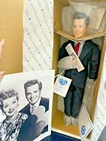 I Love Lucy 1991 Hamilton Ricky Doll NIB Signed Box + Photo Lucille Desi VIDEO