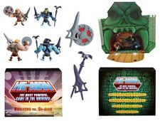 Matty Collector Masters of the Universe Minis Skeletor vs He-man SDCC 2013 MOTU