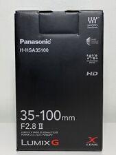 Panasonic Lumix G X Vario 35-100 mm F2.8 II Power OIS HD Lentille