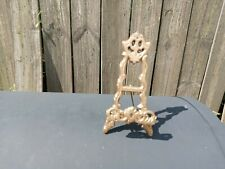 Vintage Cast  Metal Standing Easel For Picture, Book, Etc.