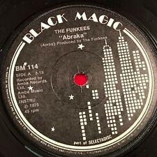 "THE FUNKEES Abraka - 1975 UK 7"" vinyl single EXCELLENT CONDITION"