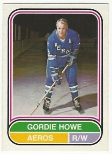 1975-76 OPC WHA HOCKEY #100 GORDIE HOWE - NEAR MINT-
