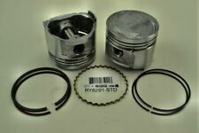 "ITM RY6291-020 Set of 4 Engine Pistons W/Rings .020"" Oversize"