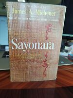 SAYONARA by James A. Michener 1954 1st Edition 1st Printing - Solid VG+ to NF-