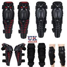UK Off-Road Motorcycle Motorbike Kneepad Body Leg 3Section Protection Armor Knee