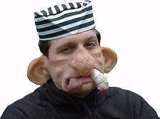 Maske Kalle Qualm große Ohren Zigarette Fasching Halbmaske Raucher 129238113
