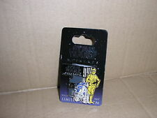 DISNEY STAR WARS WEEKENDS 2007 C3PO AND R2-D2 LIMITED EDITION PIN NEW