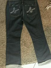Name brand bebe denim jeans size 27 very nice women pant gently worn no tears