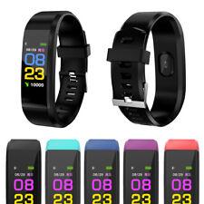 Pulsera Bluetooth Reloj inteligente De Pulsera Monitor de la sangre para IOS Android Samsung