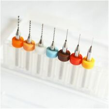 Drill Bits for 3D Printer Nozzle Cleaning Kit Pack of 7 PCS: 0.2mm 0.25mm 0.3 SS
