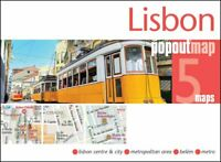 Lisbon PopOut Map by PopOut Maps 9781910218488 | Brand New | Free UK Shipping
