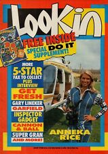 Look-In Magazine 25 April 1987     Anneka Rice     Gary Lineker     5 Star