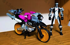 """Power Rangers Operation Overdrive """"Black ZordTek Cycle with Black Ranger"""""""
