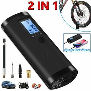 100PSI Car Bike Air Compressor Tyre LED LCD Tire Electric Digital Inflator Pump