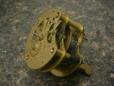 Vintage Unsigned Brass German Wind-Up Novelty Clock Movement  E802b