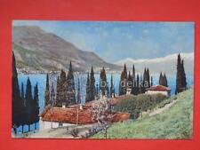 Lago di Como vecchia cartolina