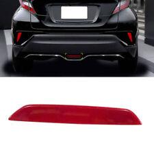 Red Plastic Rear Stop Lamp Brake Light Trim 1PCS For Toyota C-HR CHR 2016-2018