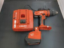 Hilti Sf 150 A Drill Cordless One Battery And Charger Sfc 718 Sfb 150