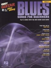 Blues Songs for Beginners Easy Guitar Play-Along TAB Music Book/Audio Buddy Guy