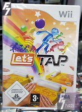 Let's Tap NINTENDO Wii - Wii U NEUF NEW VERSION FRANÇAISE.