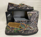New Men's Camouflage Memory Foam Moccasin Slippers True Timber Sz S 7/8