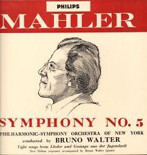 Mozart(Vinyl LP)Symphony No.5/ Bruno Walter-Philips-ABL 3188-UK-Ex/VG
