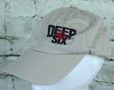 Deep Six Tan Easton Archery Compound Bow Trucker Cap Baseball Hat Adjustable
