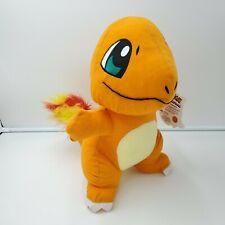 "New Nintendo Pokemon Go Plush CHARMANDER 9.5"" Soft Stuffed Animal . Licensed."