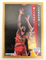 1992-93 Fleer Sheets Inside Stuff Perforated Michael Jordan #32