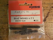 BS-67 M5x40 Shafts - Kyosho Burns Inferno Landmax Porsche 959 GP-20