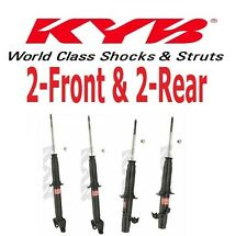 Set of 4 KYB Excel-G 2-Front & 2-Rear Struts/Shocks for Honda Prelude 92 to 01