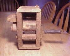 Vintage 19th C. Hand Carved, Hand Crank Wooden Cotton Gin, Working Model!