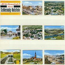 9er Streichholzetikettenserie22b Mit der Europastraße 3 durch Schleswig-Holstein