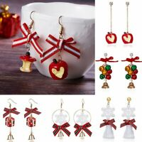 Christmas Fruit Snowflake Bell Hook Earrings Ear Drop Dangle Jewellery Xmas Gift