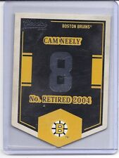 12-13 2012-13 CLASSICS SIGNATURES CAM NEELY BANNER NUMBERS EN14 BOSTON BRUINS