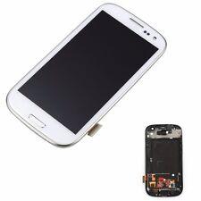 Blanc Pour Samsung Galaxy S3 i9300 Lcd écran Tactile Numériseur Affichage Frame
