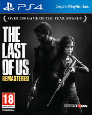 Jeux PS4 The Last of Us Remastered : survivre face à une mystérieuse peste...