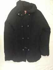 DIK - Giubbotto giacca - colore nero - taglia S - nylon poliestere - usato