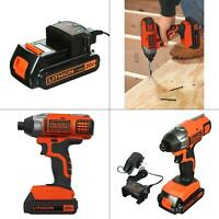 20-Volt MAX Lithium-Ion Cordless Impact Driver with Battery 1.5Ah and Charg