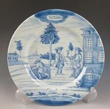 """DELFT METROPOLITAN MUSEUM OF ART OCTOBER MONTH OF THE YEAR 9"""" PLATE MMA Dutch NY"""