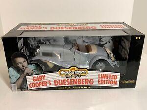 American Muscle Classics RC ERTL 1:18 Gary Cooper Duesenberg SSJ limited edition