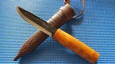 Helle Viking Gürtelmesser Jagd-Messer Jagdmesser Carbonstahl Neu 164911