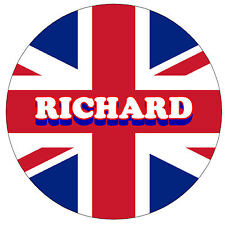 UNION JACK - FUN NOVELTY PERSONALISED FRIDGE MAGNET - ANY NAMES - NEW - GIFT