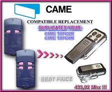 Came TOP 432M / Came TOP434M compatibile telecomando, 433,92Mhz Clone