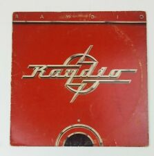 "Raydio Self Titled Vinyl 12"" Record Arista Records 1978 AB 1463 Funk Soul Disco"