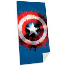 Beach Towel Marvel Captain America Shield Cotton 75x150cm