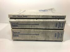 2001 Ford Taurus & Sable Service Manual and Wiring Diagrams Complete Set Oem