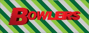 Bowlers Manchester Old Skool Rave Retro 90s Car Sticker 20cm x 8cm