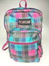 Jansport TM60 Supermax Backpack Trans Pink Plaid